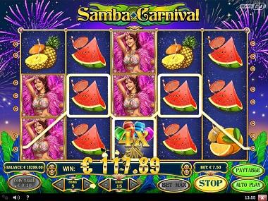 Samba Carnival Play'n GO Slot 5