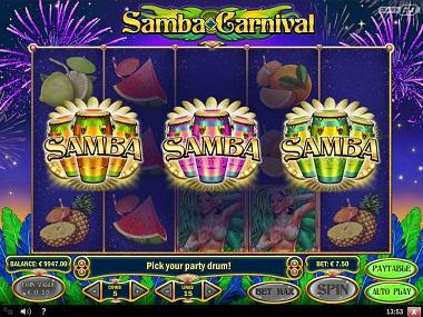 Samba Carnival Slot Bonus 2