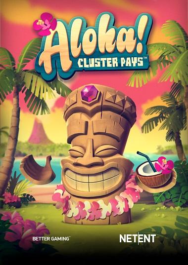Aloha Cluster Pays Slot NetEnt 1