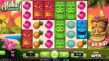Aloha Cluster Pays Slot NetEnt 4