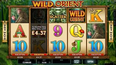 Wild Orient Microgaming Slot 4