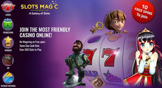 Slot Magic Casino Promo