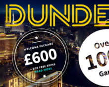 Dunder £/€600 Welcome Bonus