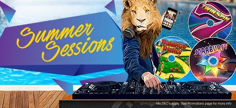 Promotions Summer Sessions UK