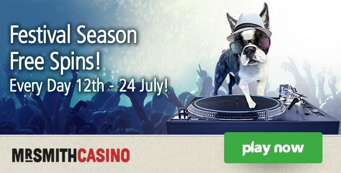 Mr Smith Casino Festival Spins