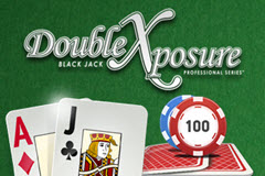 Black Jack Double Exposure Table Games