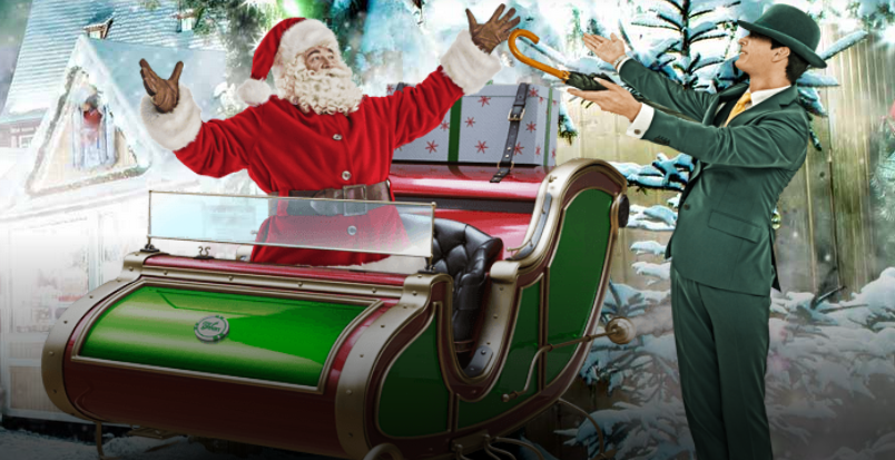 Mr Green Casino Christmas Banner