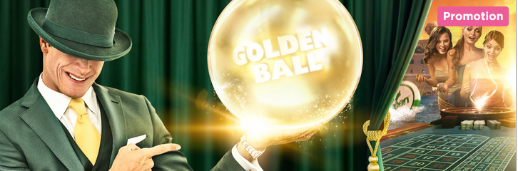Mr Green Casino Golden Ball Promo