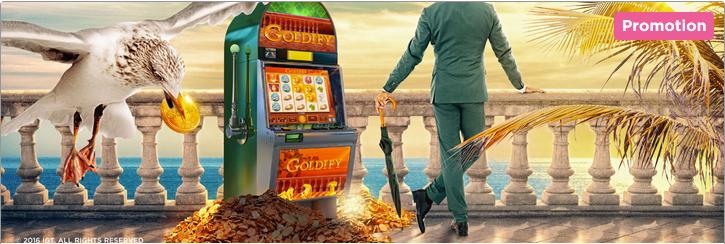 Mr Green Casino Goldify Slot Promo