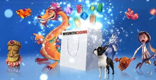 Mr Smith Casino Weekend Goodie bag