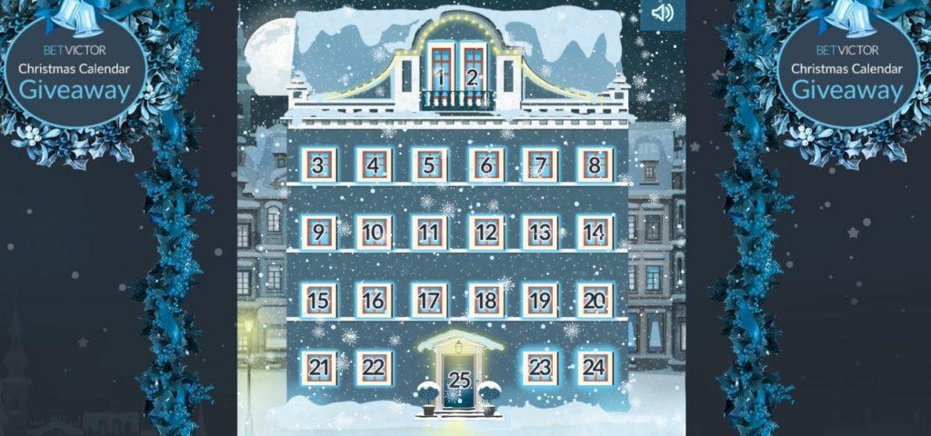 BetVictor Casino Christmas Calendar Giveaway