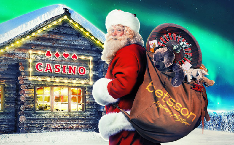 Betsson Casino Christmas 2016