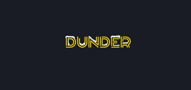 Dunder Casino Christmas Logo