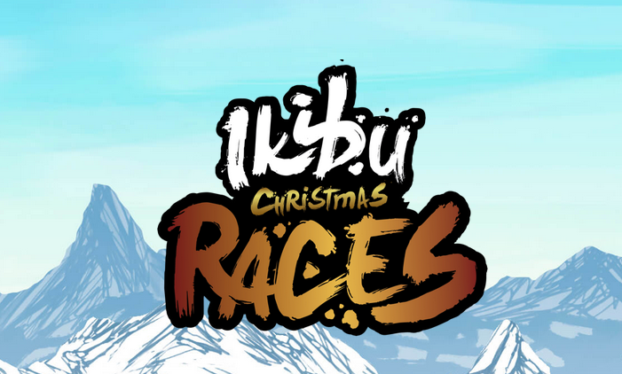 Ikibu Casino Christmas Races Logo