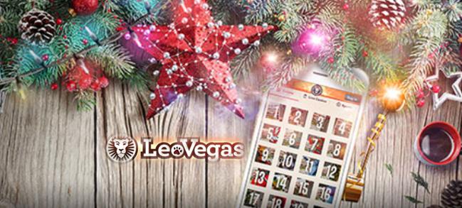 Leo Vegas Christmas Logo