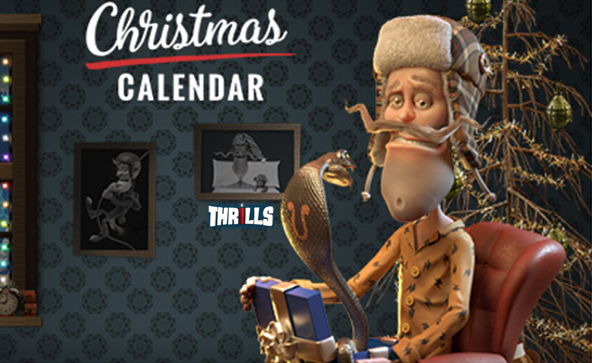 Thrills Casino Christmas Calendar