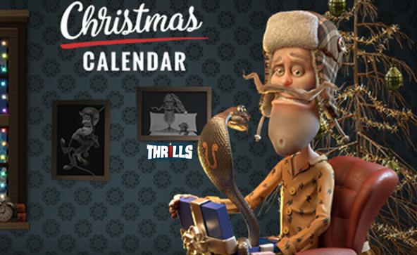 Thrills Casino Christmas Calendar