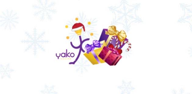 Yako Casino Christmas Logo