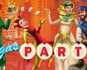 Vegas Party Slot Logo