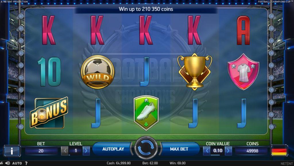 Football Champions Slot