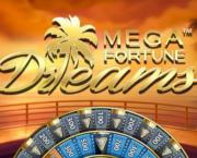 Mega Fortune Dreams Slot Logo