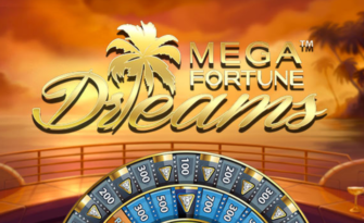 Mega Fortune Dreams Slot Logo