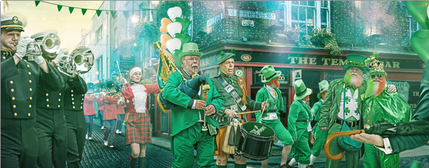 Mr Green Casino St. Patricks Day