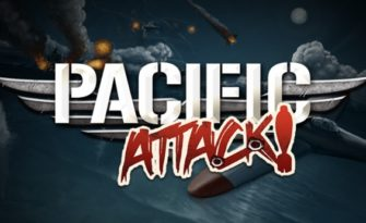 Pacific Attack! Slot Logo