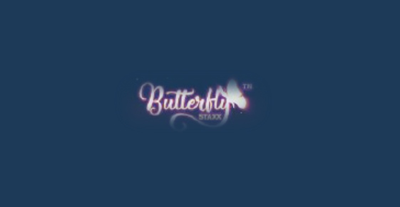 Butterfly Staxx Slot Logo