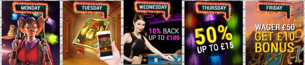 Mr Smith Casino Daily Deals