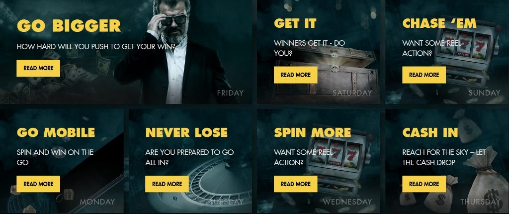 Bethard Casino Daily Deals