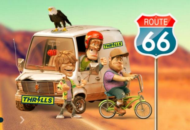 Thrills Casino Route 6 Slot