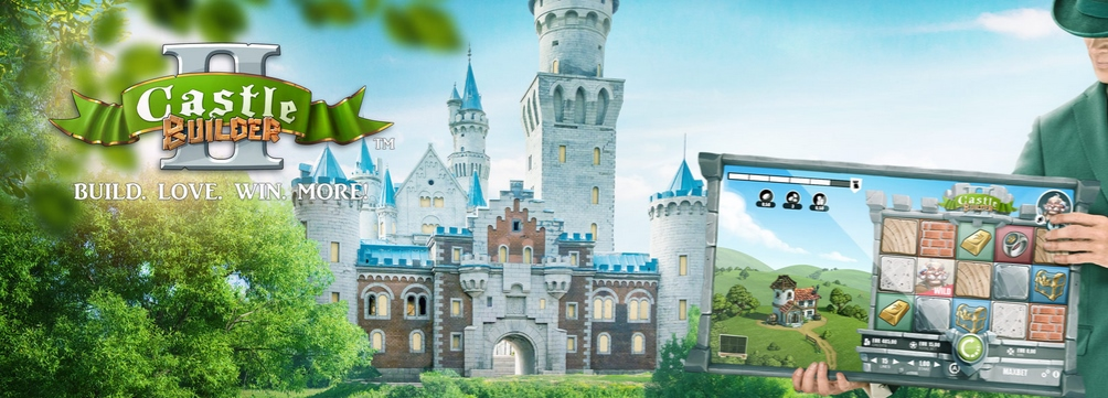 Up to €350 Bonus! Play Castle Builder Slot at Mr Green