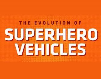 The Evolution of Superhero Vehicles