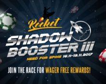 ShadowBet – Rocket Shadow Booster III!