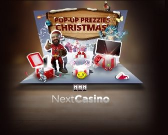 Next Casino – Christmas Pop-Up Prezzies!