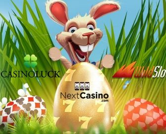 Casino Luck, Next Casino & WildSlots – Easter Egg Hunt!