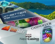 Netent Prize Draw for Jet-Setters!