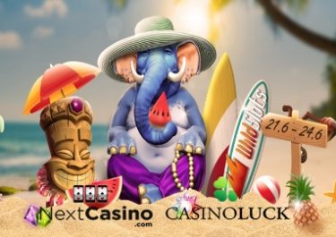 Summer Surprises at Casino Luck, Next and WildSlots!
