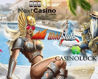 Holiday Race at Casino Luck, Next and WildSlots!