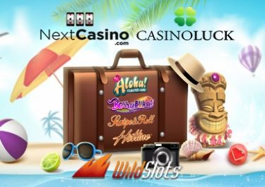Holiday Giveaway at Casino Luck, Next and WildSlots!