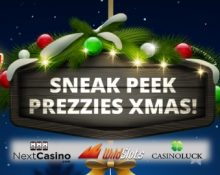 Christmas 2018 at Next, CasinoLuck & WildSlots!