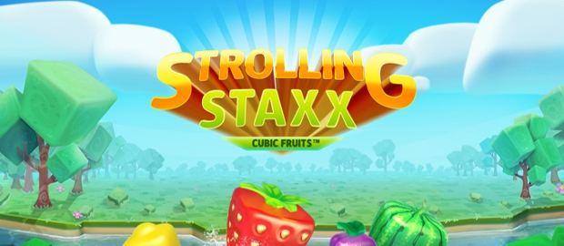 Strolling Staxx: Cubic Fruits Slot