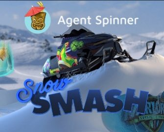 Agent Spinner – Snow Smash!