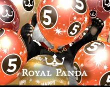 Royal Panda – 5th Birthday Party!